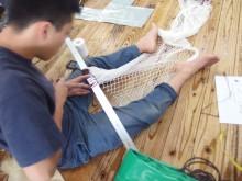 刺し網(装飾用)
