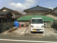 パイプ車庫